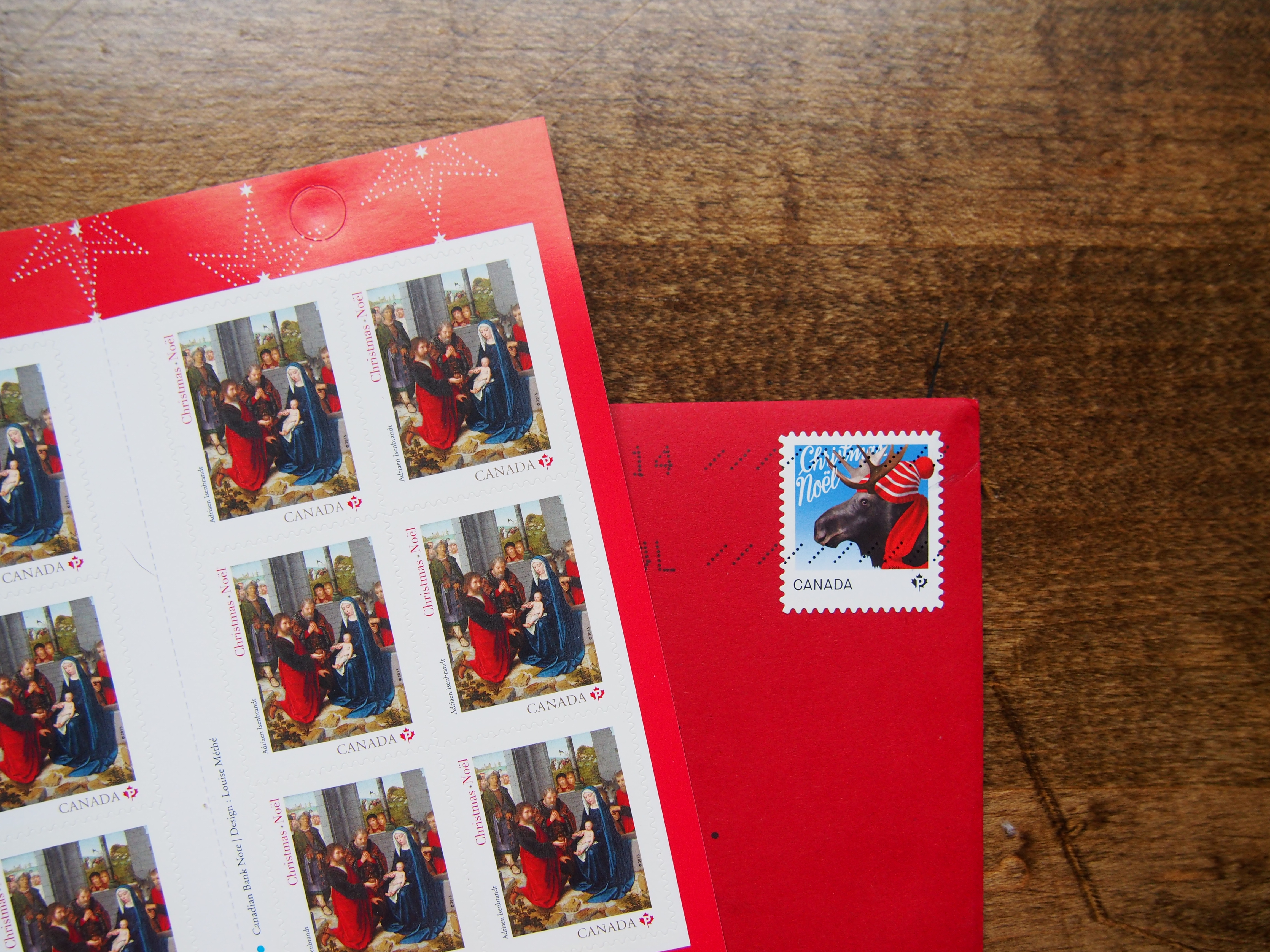 Canada Post Christmas Stamps Wonder Pens wonderpens.ca Christmas Card Tips