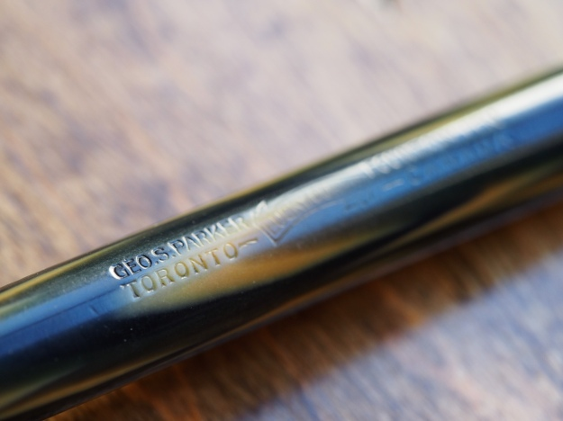 Vintage Parker Lucky Curve Fountain Pen
