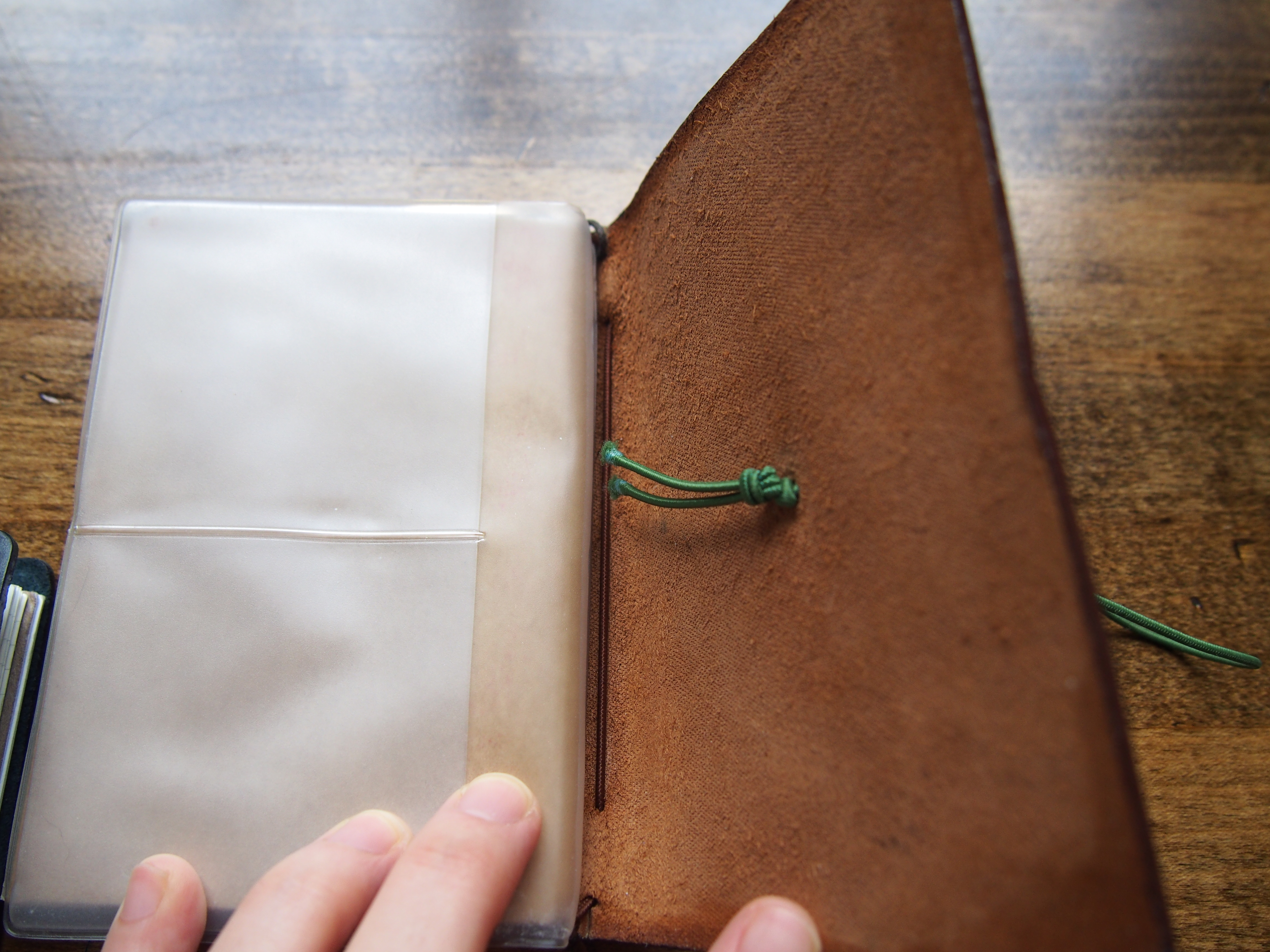 How to replace the elastic on your Midori Traveler's Notebook Wonder Pens Toronto Canada