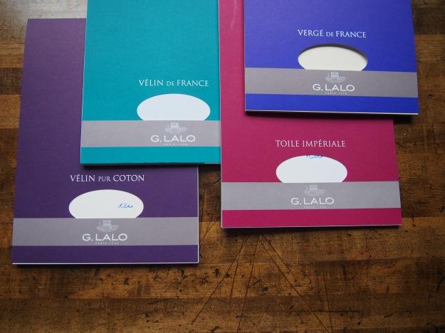 G. Lalo Verge de France, Velin de France, Velin Pur Coton, Toile Imperiale Paper at wonderpens.ca Wonder Pens Toronto Canada Stationery Shop