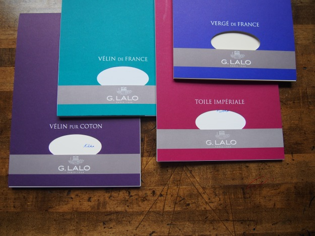 G. Lalo Verge de France, Velin de France, Velin Pur Coton, Toile Imperiale Paper at wonderpens.ca Wonder Pens Toronto Canada Stationery Shop