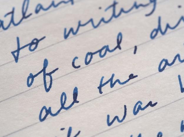 Sailor 1911 Medium Nib Writing Sample Sei Boku Wonder Pens Toronto Canada