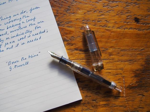 Sailor 1911S Demonstrator Clear Fountain Pen wonderpens.ca wonder pens toronto canada