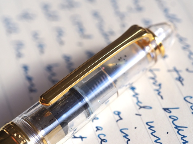 Sailor 1911S Demonstrator Review Clear Fountain Pen wonderpens.ca wonder pens toronto canada