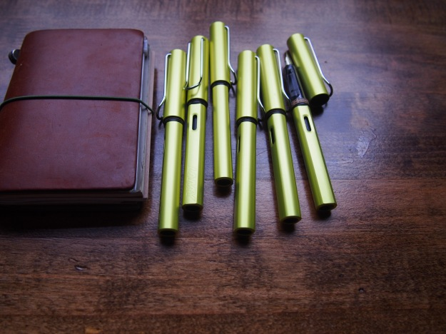Lamy 2016 Fountain Pen of the Year Charged Green Al-Star Wonder Pens Toronto Canada