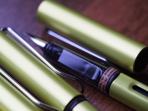 Lamy 2016 Al-Star Charged Green Wonder Pens Toronto Canada